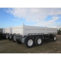 Schmitz tri axle draw bar trailer