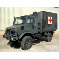 Mercedes Unimog U1300L turbo 4x4  Ambulance   RHD for sale in Africa
