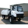 Iveco Magirus 110-16 4x4  truck with crane HIAB 965-90  for sale Military MAN trucks