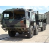 MAN 464 8x8 Drop Side Cargo Truck side loader