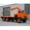 Bedford TM 6x6 Drop Side Cargo Truck with Atlas Crane  for sale Bedford TM