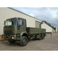 Iveco Eurotrakker 6x6 Cargo truck With Rear Mounted Crane for sale in Africa