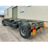 Schmitz 20FT Draw Bar Container Trailer | used military vehicles, MOD surplus for sale