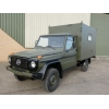Mercedes GD250 G Wagon 4x4 Box Vehicle | used military vehicles, MOD surplus for sale