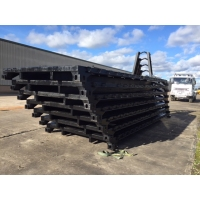 DROPS body - 20ft ISO flat rack for sale