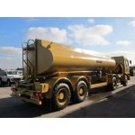 Foden 4380 MWAD 8x6 Multidrive Tanker truck 20000 Lt.  for sale Military MAN trucks