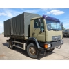 MAN 10.185 4x4 drop side cargo trucks   ex military for sale