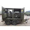 Hunting 150 KVA Trailer Mounted Generator   ex military for sale