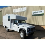 Unused Land Rover Defender 130 LHD Box Vehicle | used military vehicles, MOD surplus for sale