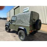 Land Rover Defender 90 Wolf RHD Soft Top (Remus)   ex military for sale