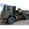 Volvo FL12 6x6 Tipper with clam sheel grab  for sale Military MAN trucks