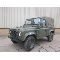 Land Rover Defender 90 RHD Wolf Soft Top (Remus)