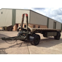 King 20ft container trailer 15 ton capacity