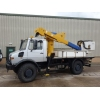 Mercedes Unimog U1550L Cherry Picker Ex military vehicles for sale, Mod Sales, M.A.N military trucks 4x4, 6x6, 8x8, used trucks for sale, MOD sales, the UK, Doncaster