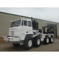 Foden 8x6 Container Carriers truck with crane for sale in Africa