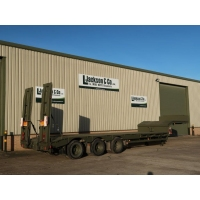 Broshuis E2130 Tri Axle Step Frame Low Loader Trailer