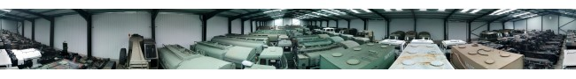The shed 4 of the Rocket site -- L.Jackson & Co Ltd � Ex Army UK � Ex Military Vehicles, Ex Mod NATO sales