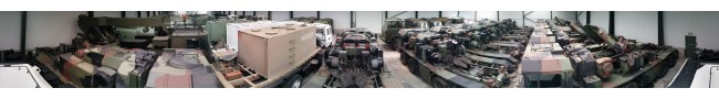 The shed 3 of the Rocket site -- L.Jackson & Co Ltd � Ex Army UK � Ex Military Vehicles, Ex Mod NATO sales
