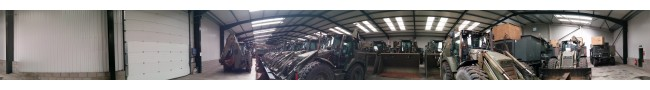 The shed 5 of the Rocket site -- L.Jackson & Co Ltd � Ex Army UK � Ex Military Vehicles, Ex Mod NATO sales