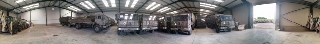 The shed 3 of the Rocket site -- L.Jackson & Co Ltd � The UK MOD Direct Sales	| LJackson and co ltd. Ex military vehicles for sale